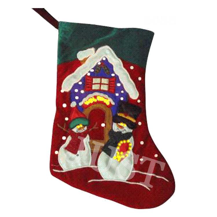 Family Set Of Christmas Stockings